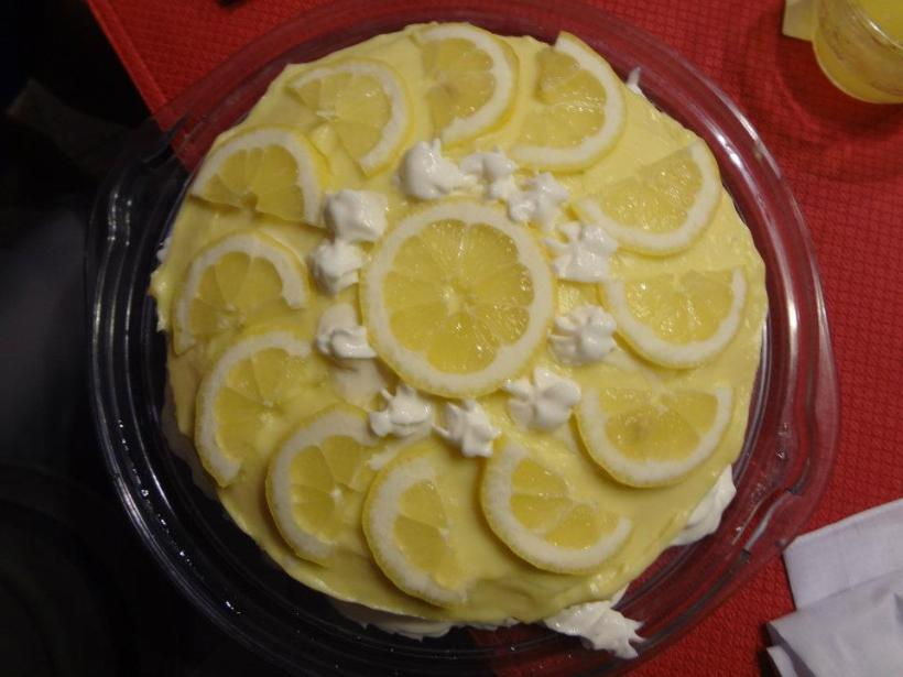 1920s dinner party menu lemon chiffon cake