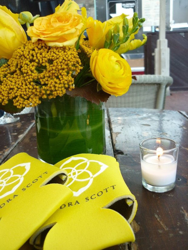 Aromatic florals and Kendra Scott koozies....a match made in heaven?