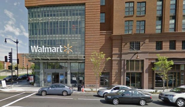 The Wal-Mart I frequent on H and First St. NW (courtesy of Google Maps)