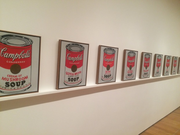 Campbell's Soup Cans, Andy Warhol, 1962