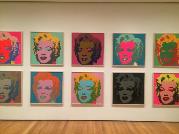 Marilyn Monroe, Andy Warhol,