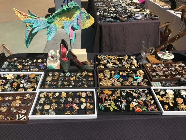 Vintage jewelry Lincoln Road Farmers' Market