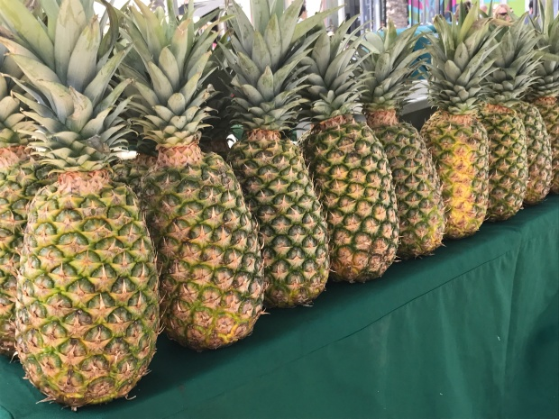 pineapples Lincoln Road Farmers' Market