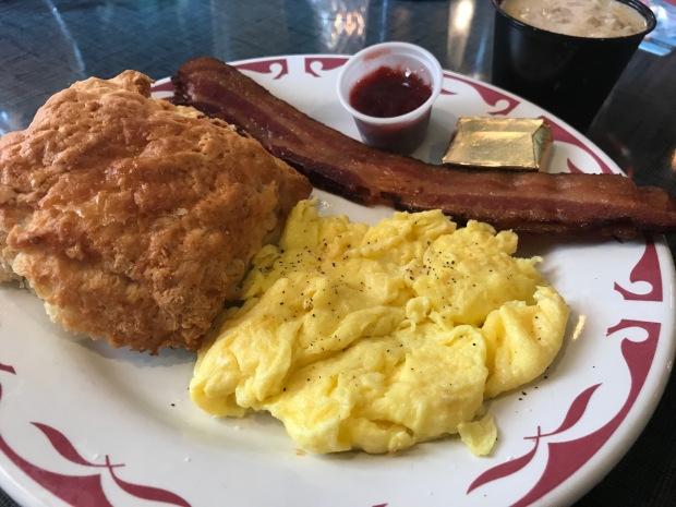 Irene's biscuit breakfast
